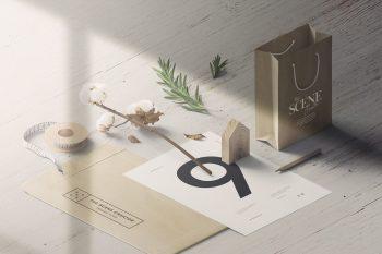 Perspective Branding Scene Creator