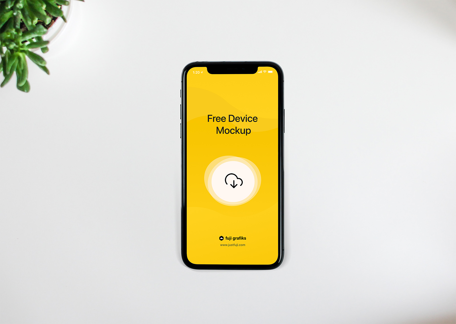Free iPhone XS Device Mockup