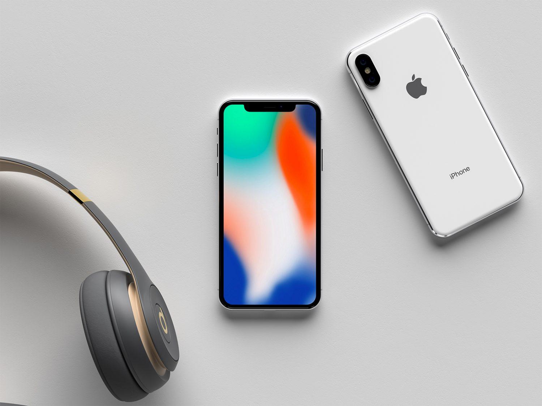 Modern iPhone X Mockup