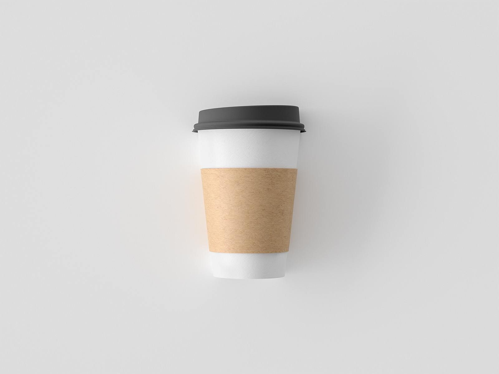 Simple Coffee Cup Mockup