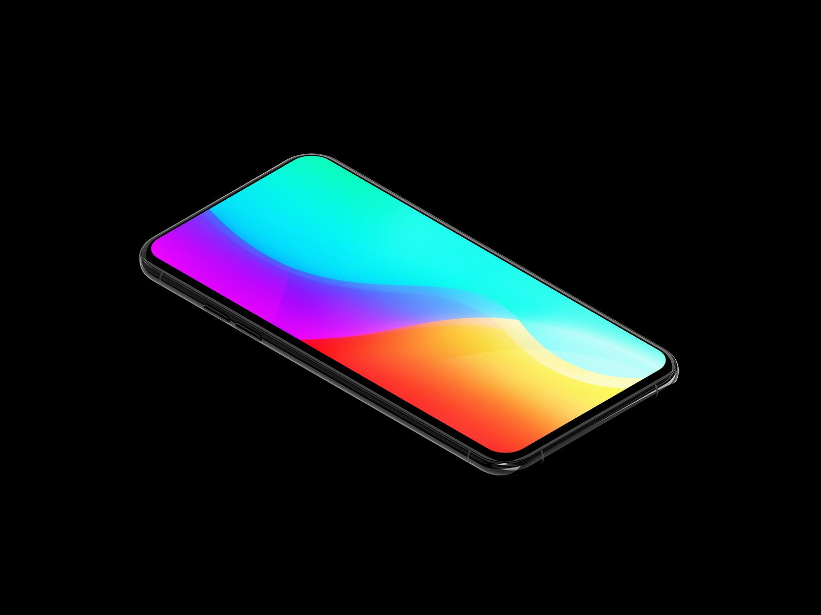 Generic Mobile Mockup (10 Colors)