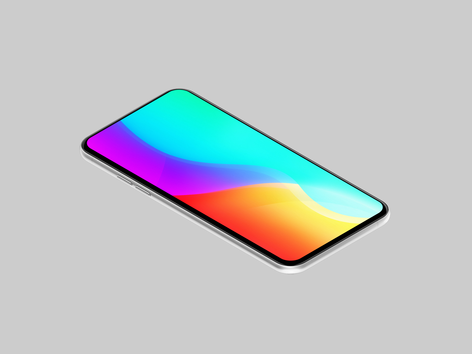 Generic Mobile Mockup (10 Colors)