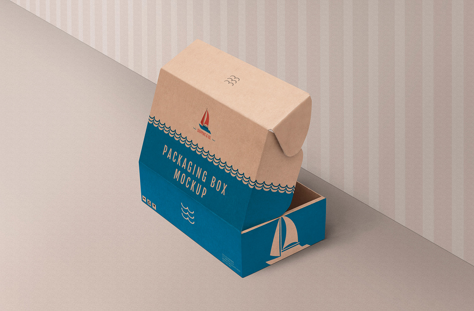 2221+ Free Box Mockup Download Photoshop File
