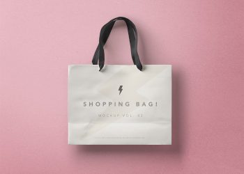 Shopping Bag PSD Mockup