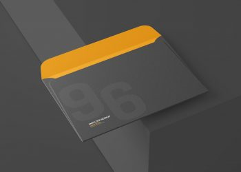 Free 6x9 Inch Envelope Mockup