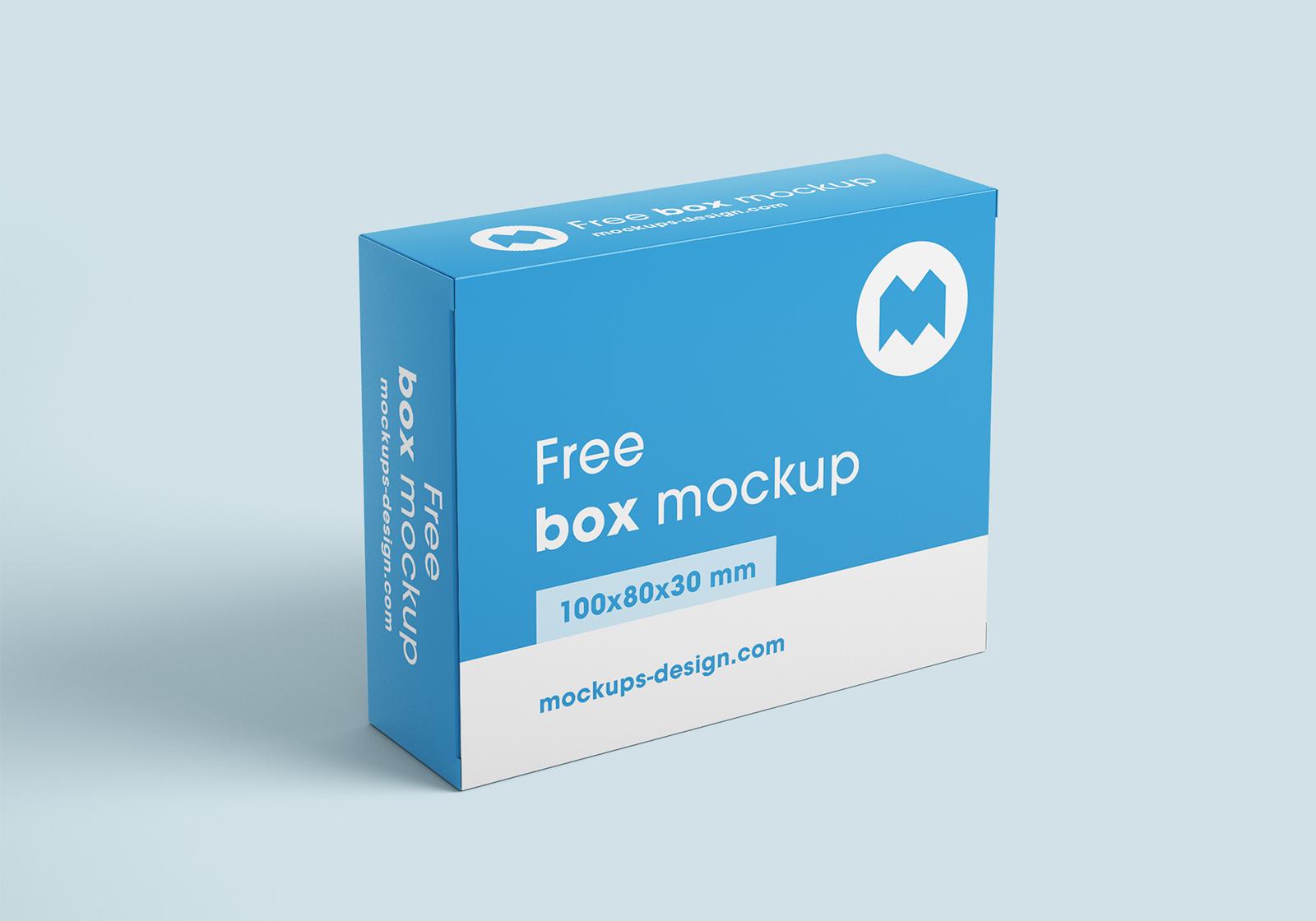 Free Box Mockups
