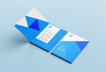Free Brand Folder Mockup