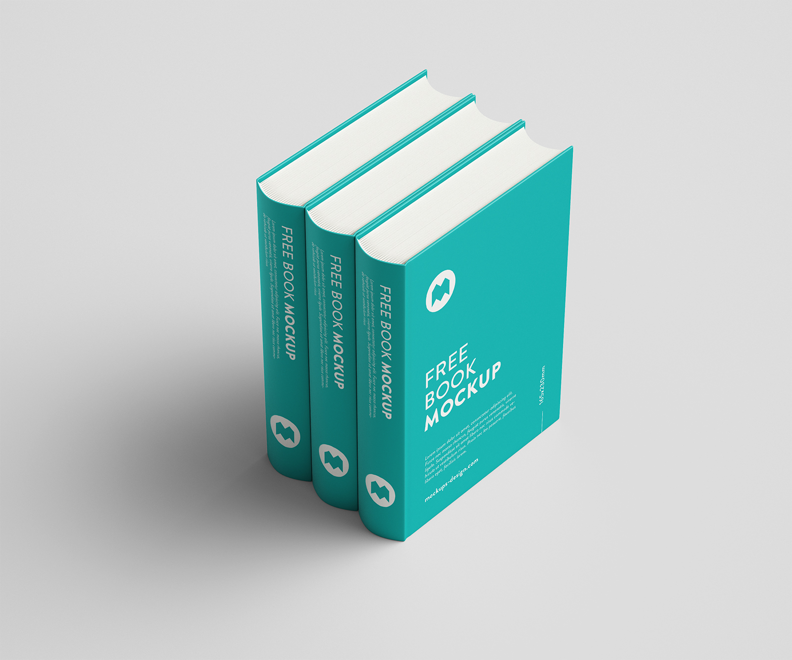 Free Thick Hardcover Book Mockup