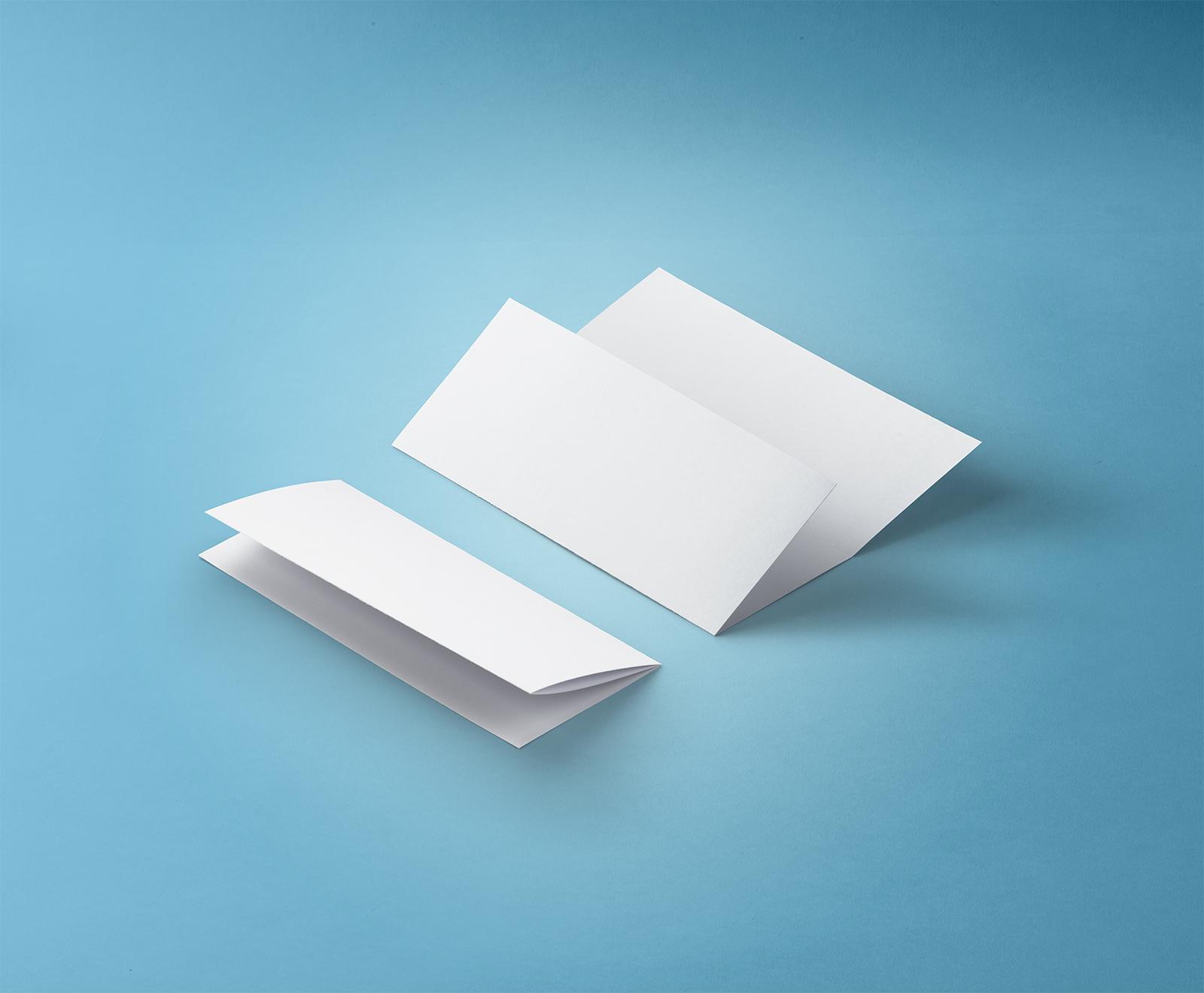 Free Tri-Fold Brochure 8.5x11 Inch Mockup