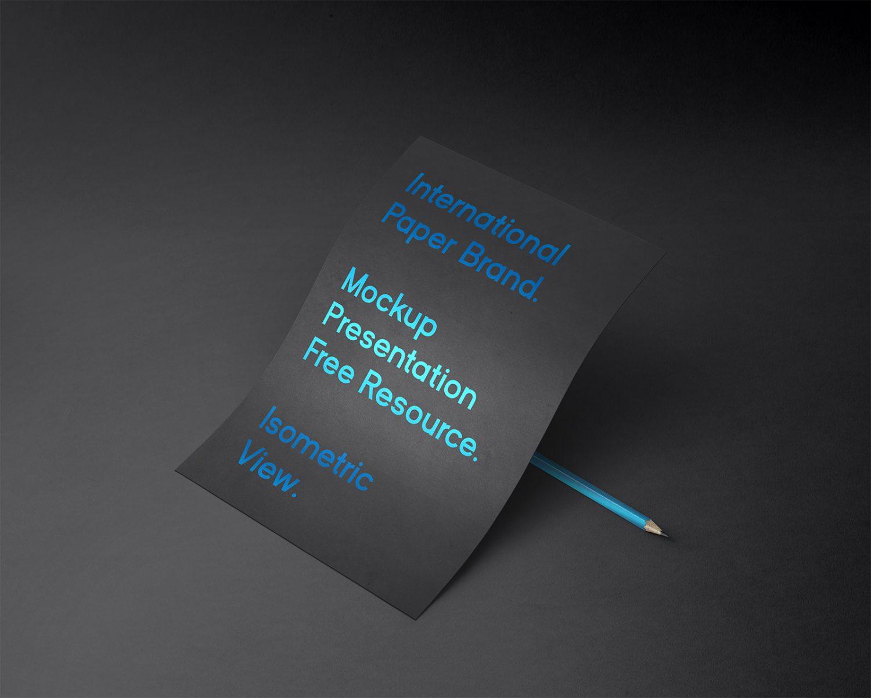 International Paper Mockup