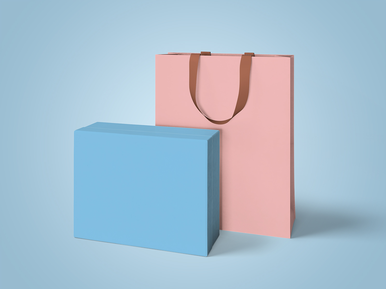 Luxury Box and Bag Mockups