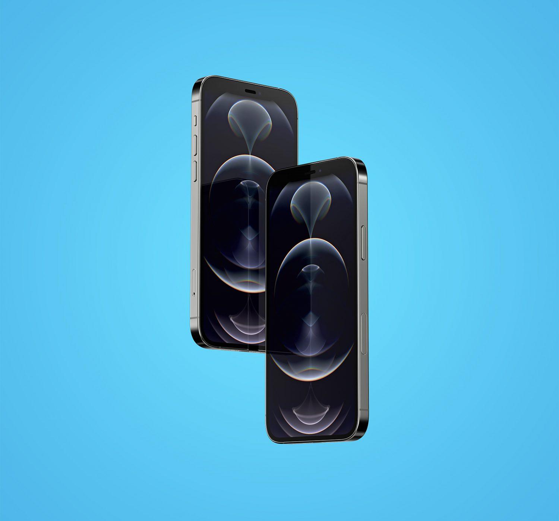 Floating iPhone 12 Pro Mockup