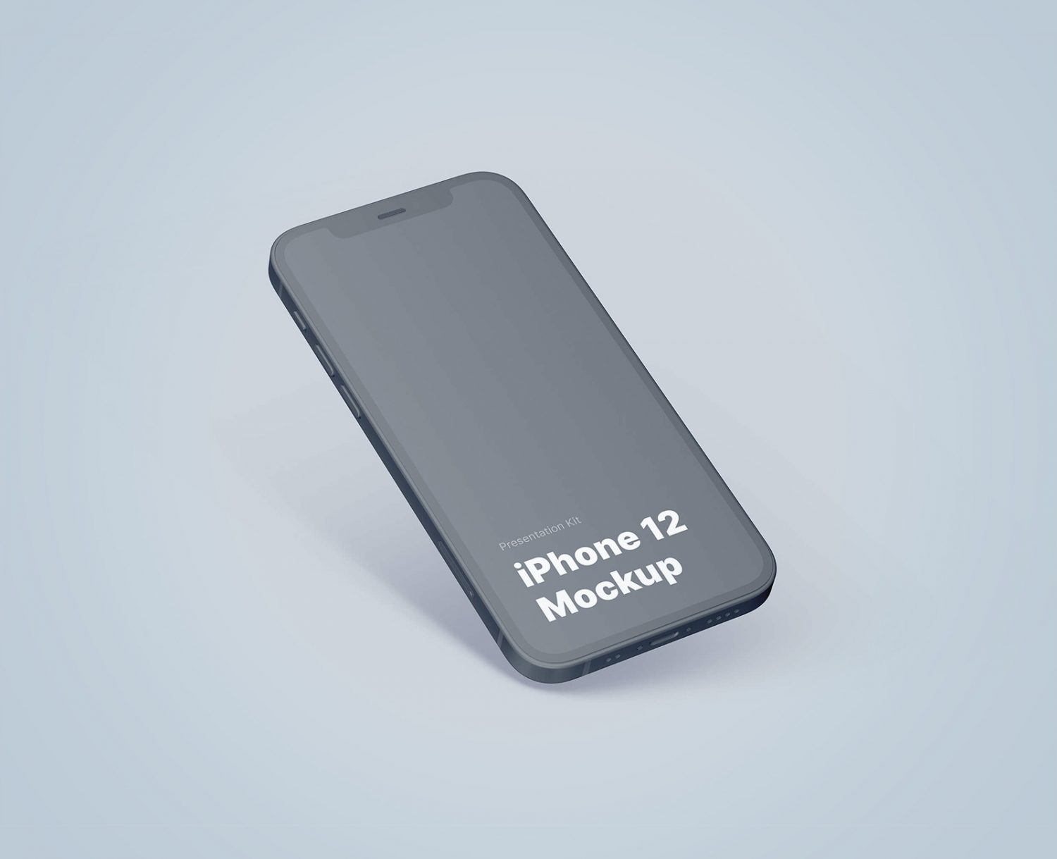 Free iPhone 12 PSD Mockup