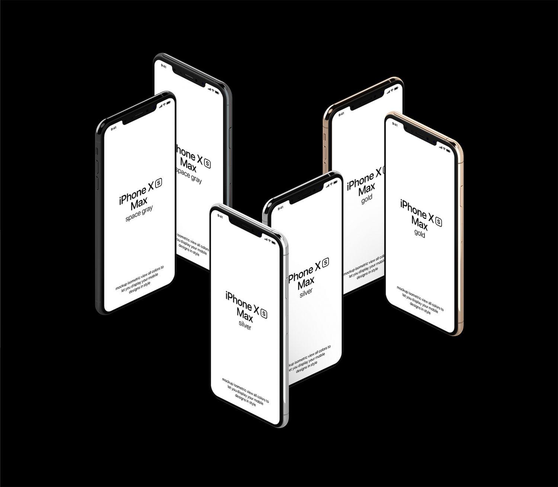 Free iPhone XS Max Mockup