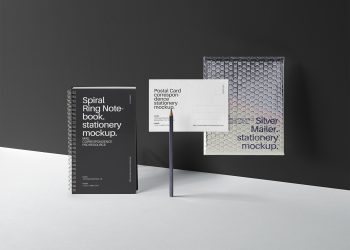 Mailing Stationery Mockup Set
