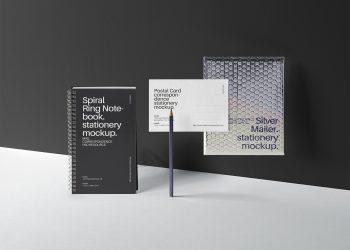 Mailing Stationery Mockup Set