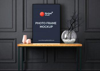 Photo Frame Free Mockups