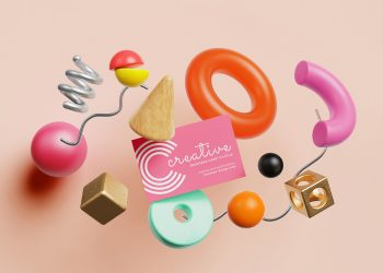 Creative Business Card Free Mockup