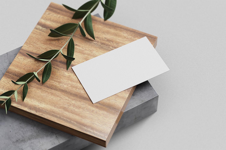Free Business Card Branding Mockup Set