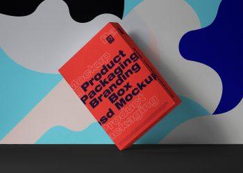 Box Packaging PSD Free Mockup