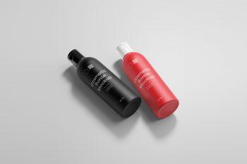 Cosmetic Bottle Free Mockups