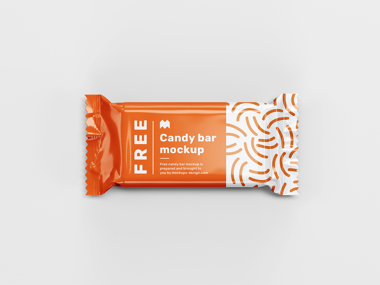 Candy Bar Free Mockup