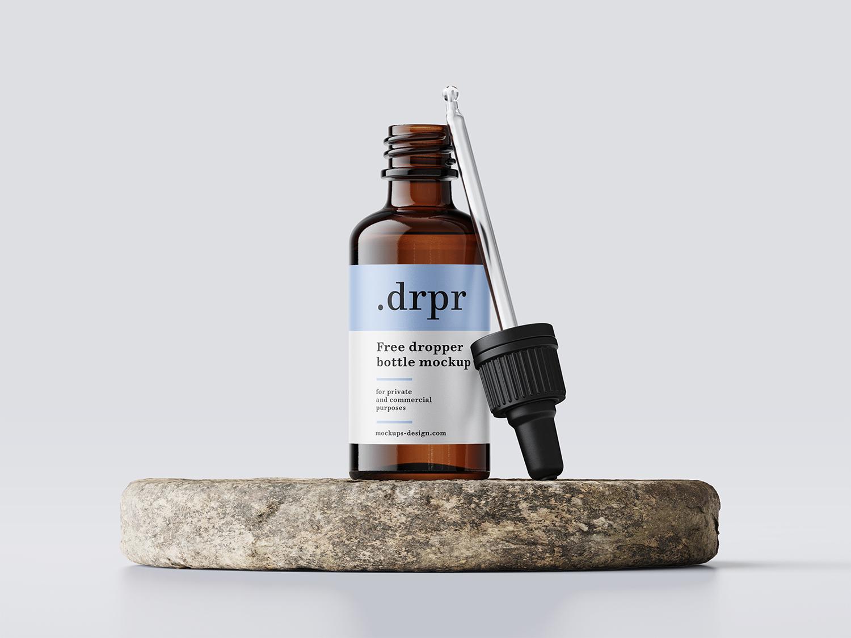 Dropper Bottle Free Mockup
