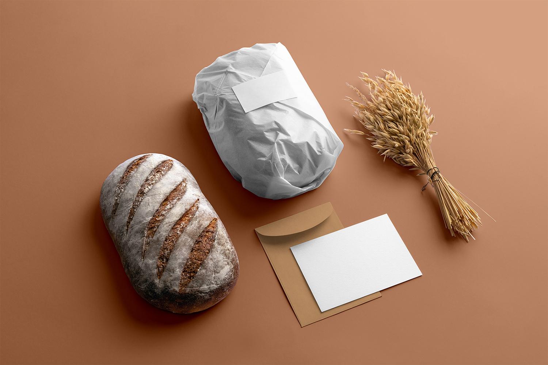 Free Bakery Branding Mockup