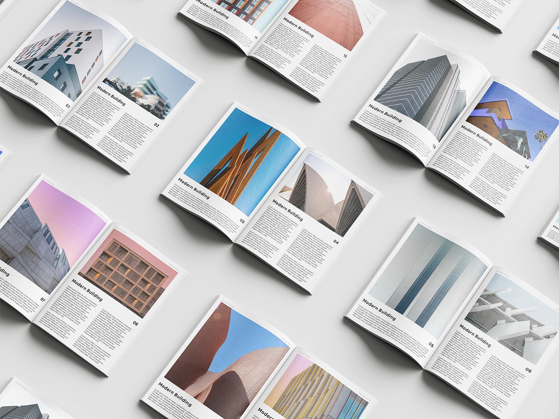 Free Magazine Set Mockups