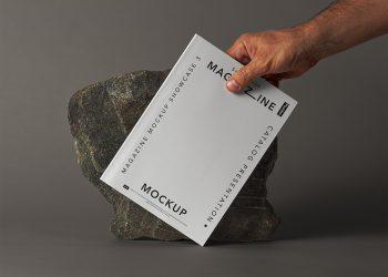Magazine Free Mockup Showcase