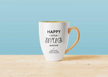 Mug Free Mockup PSD