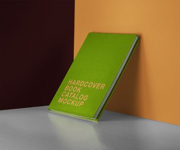 PSD Hardcover Catalog/Book Free Mockup