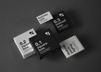 PSD Product Packaging Free Mockup Set