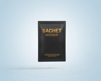 Pouch Sachet Free Mockup