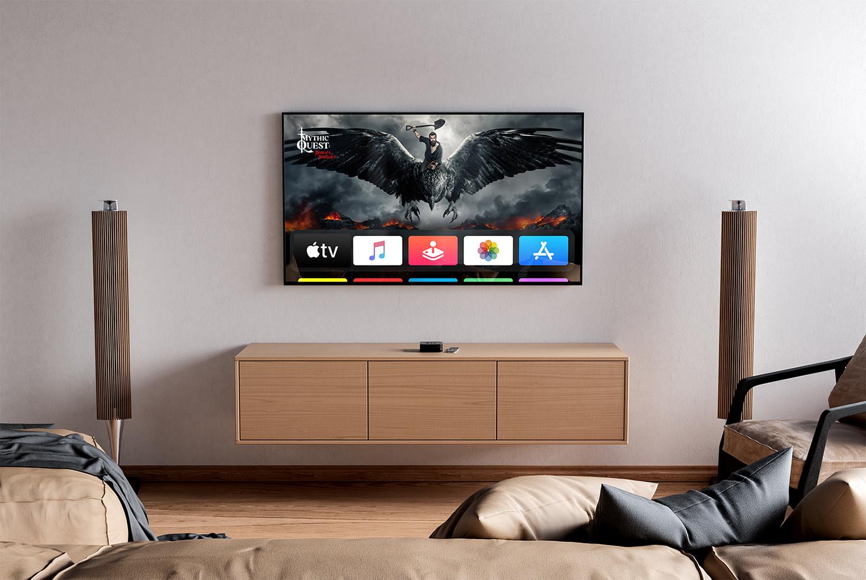TV Mockup in Interior Free PSD