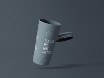 Tumbler Cup Free Mockup