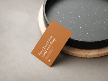 Business Cards Free Mockup
