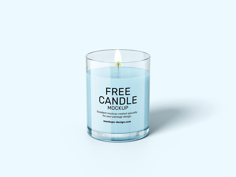 Candle Free Mockups