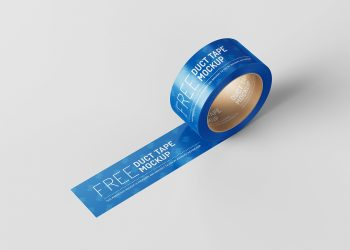 Duct Tape Free Mockup