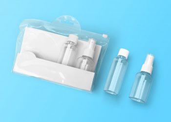 Free Cosmetic Kit Mockup