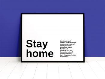 Free Framed Poster Mockup