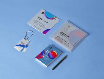 Free Product Stationery Mockup Set