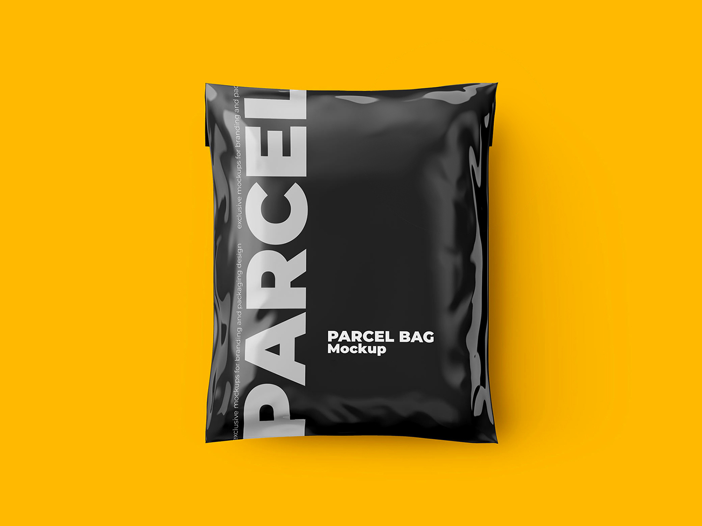 Free Shipping Bag Mockup