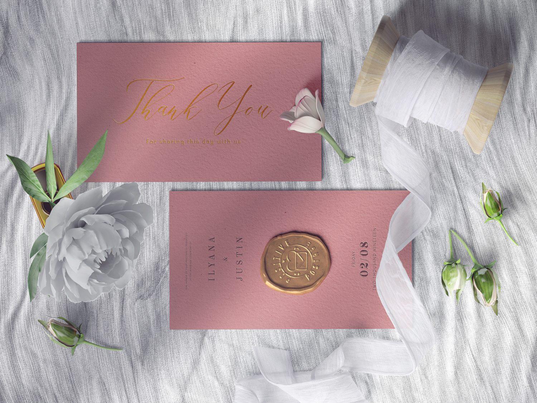 Free Wedding Invitation Card Mockups