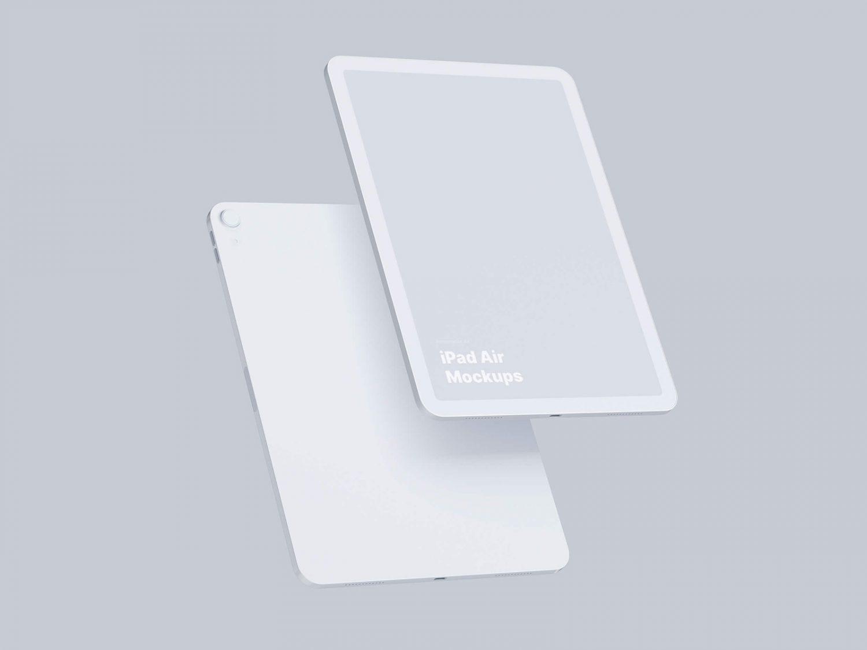 Free iPad Air Mockups