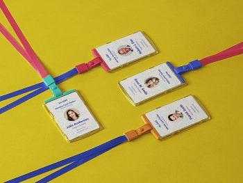 ID Card Holder PSD Free Mockups
