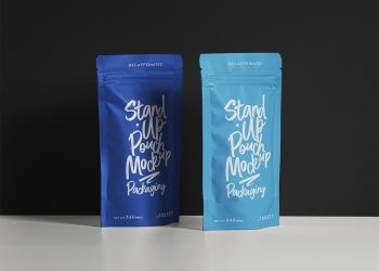 Pouch Packaging Free Mockup Set