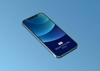iPhone 12 Pro PSD Free Mockup