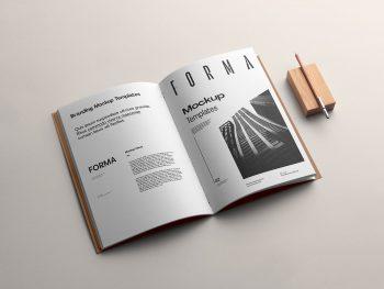 Brochure Branding Free Mockup