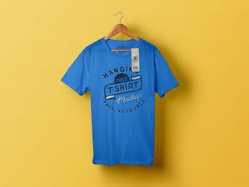 Classic T-Shirt Free Mockup